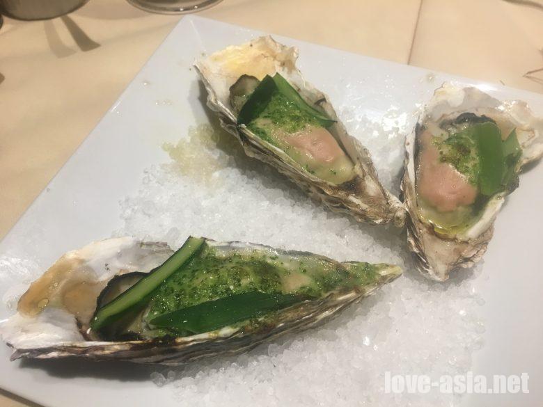 生牡蠣 オイスター 食べ放題
