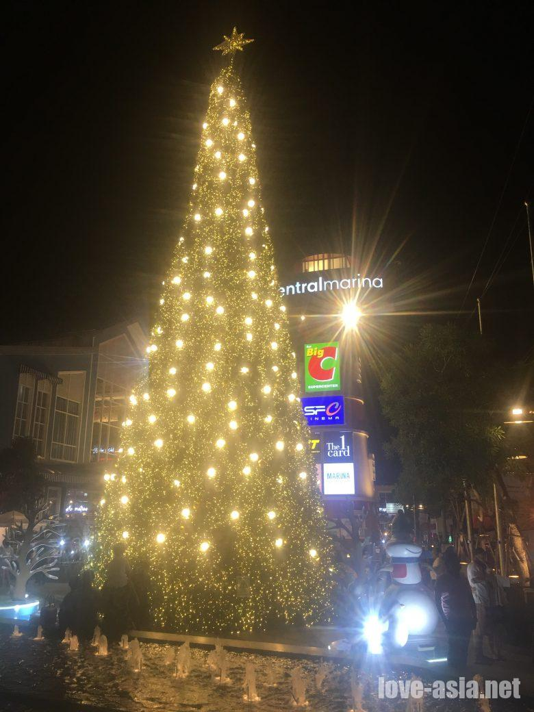 クリスマス パタヤ