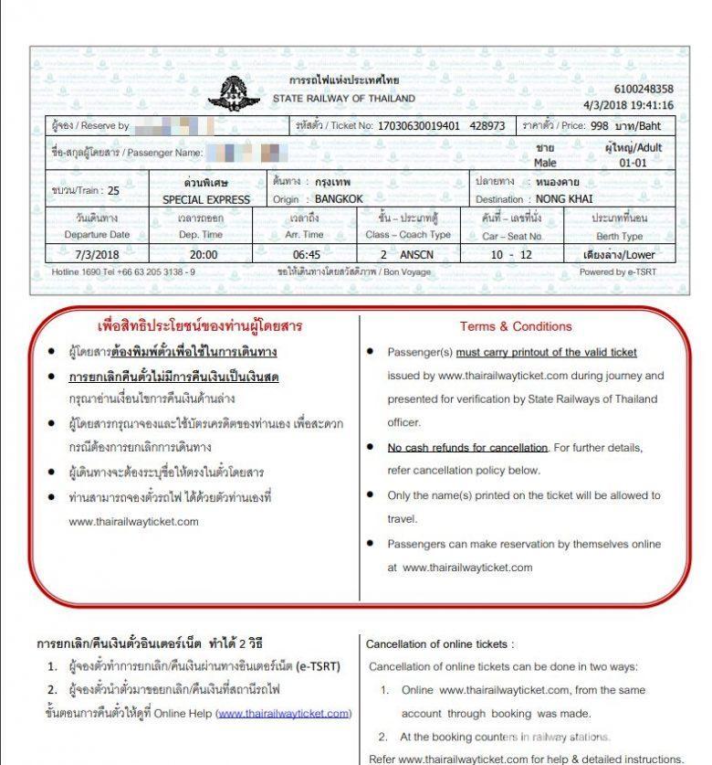 タイ国鉄(SRT)