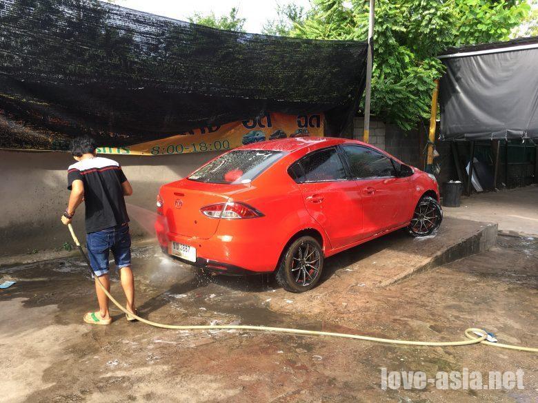 バイク洗車