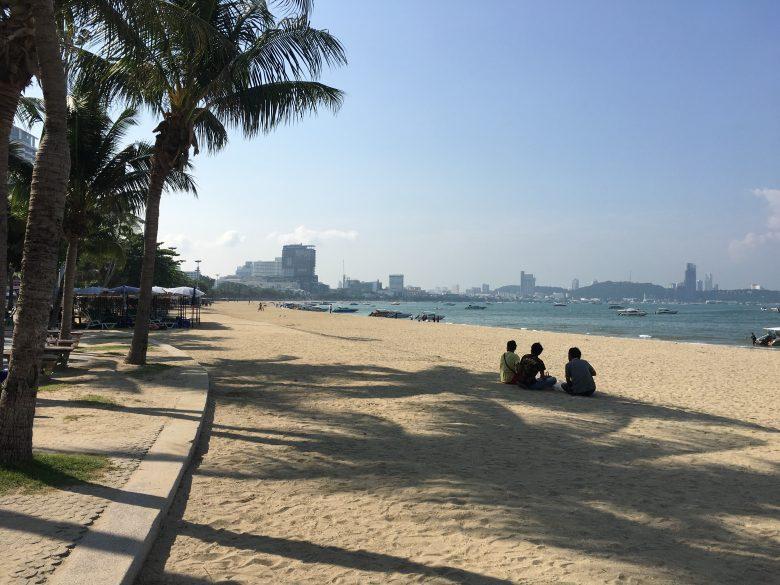 パタヤビーチ 砂浜拡張