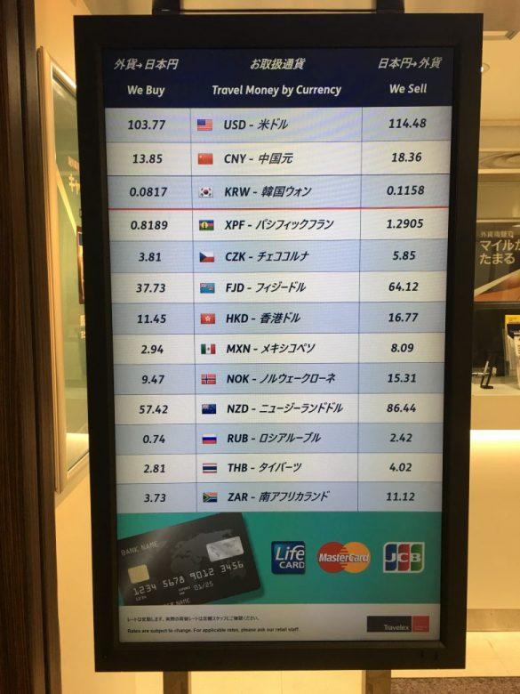 両替 日本
