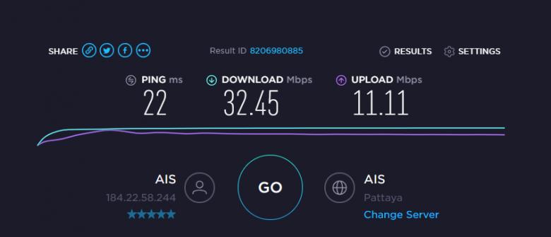 AIS インターネット回線